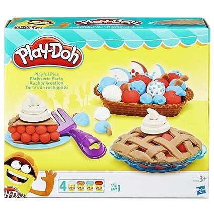 Amazon Com Play Doh Playful Pies Set Toys Games