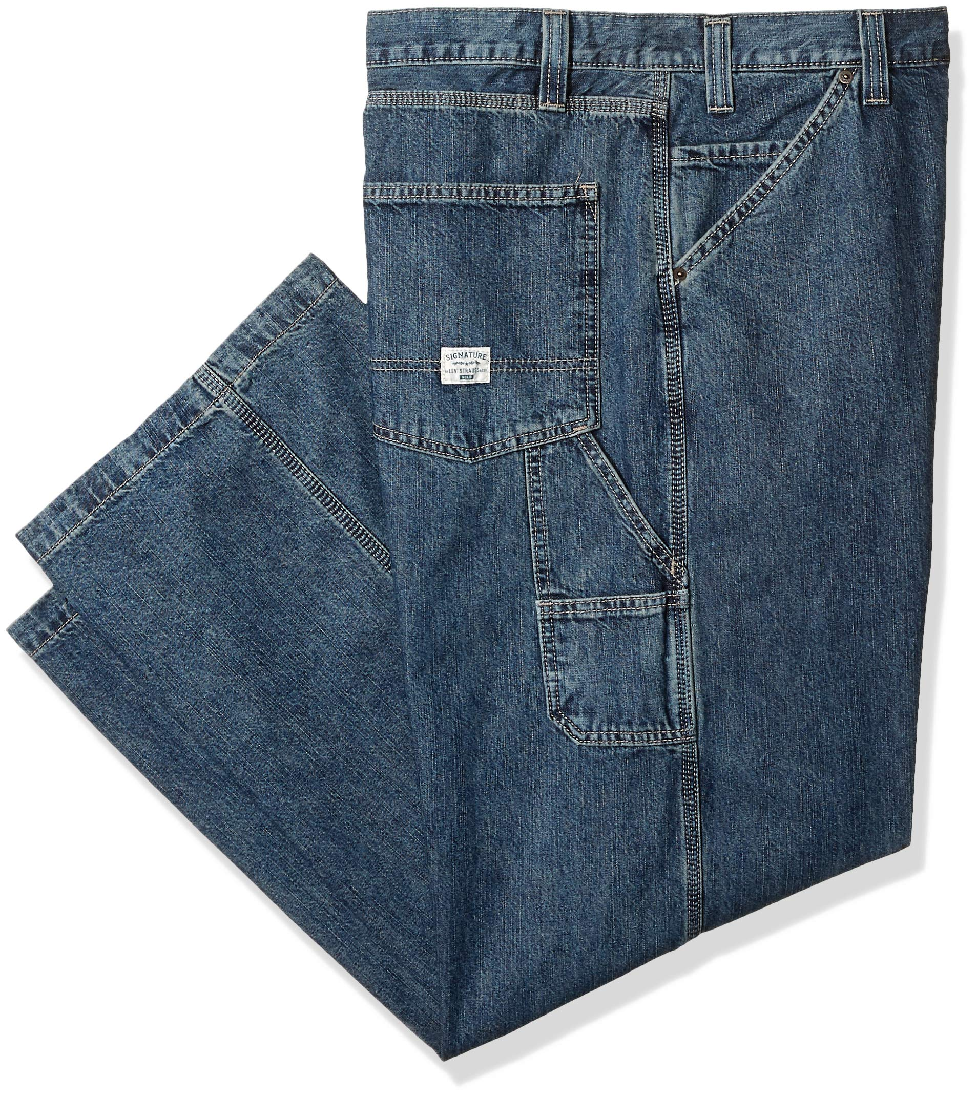 Signature by Levi Strauss & Co Men's Carpenter Jean, Clement, 34x32
