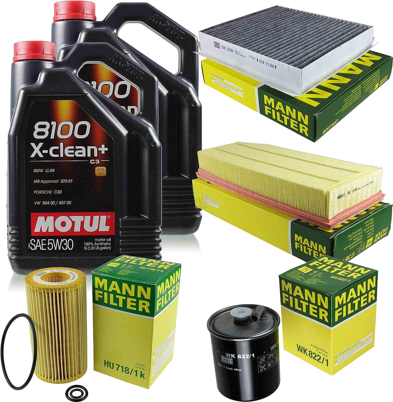 Motul 9 L 5w 30 Motor Öl Mann Filter Mercedes Benz M Klasse W163 Ml 270 Cdi Auto