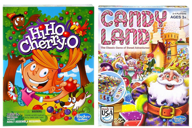 お気に入り Hi O Ho Hi Cherry O Ho and CandylandクラシックゲームバンドルセットからHasbro B076THJ2BK, セイナイジムラ:e8423881 --- martinemoeykens.com
