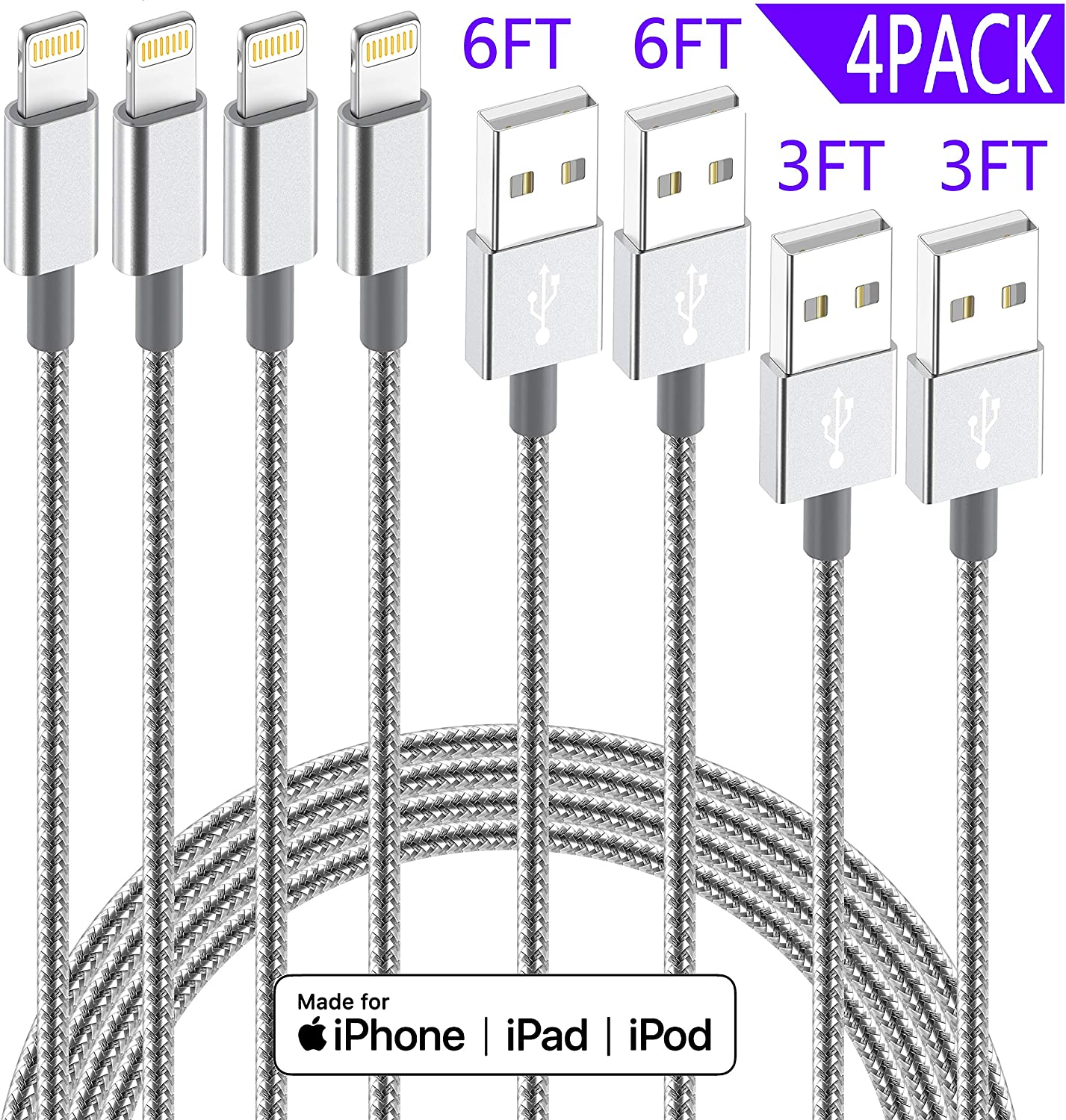 Free Amazon Promo Code 2020 for iPhone Charger Lightning Cable