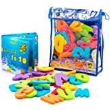 Amazon Price History for:Bath Letters, 36 Educational Foam Letters and Numbers