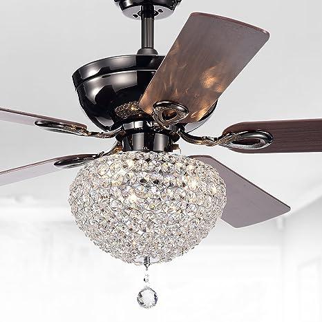 Amazon.com: Almacén de Tiffany cfl-8176ch taliko Ventilador ...