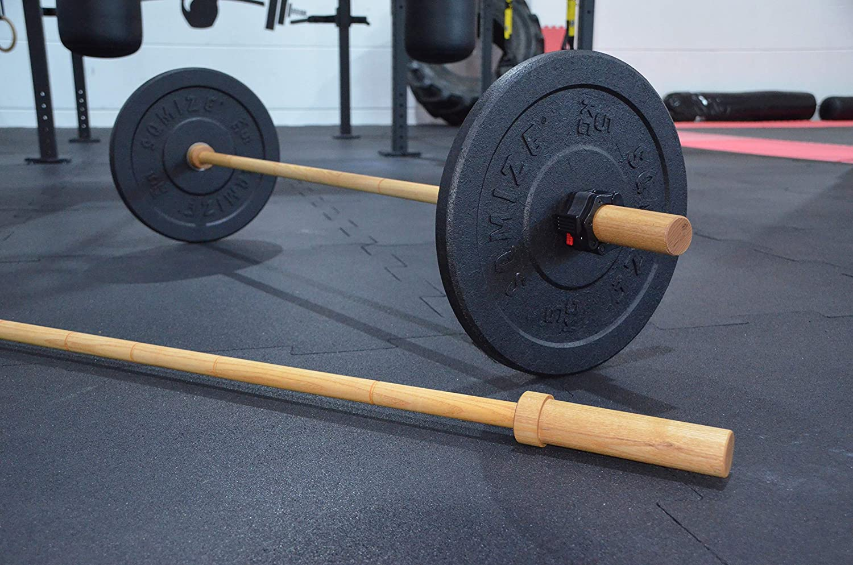 Fitness Technik-Langhantel aus Holz für Krafttraining - Crossfit - Personal Training