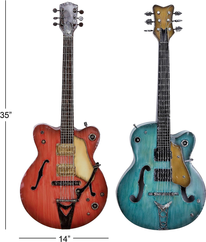 Metal Guitarra Decoración de la pared: Amazon.es: Hogar