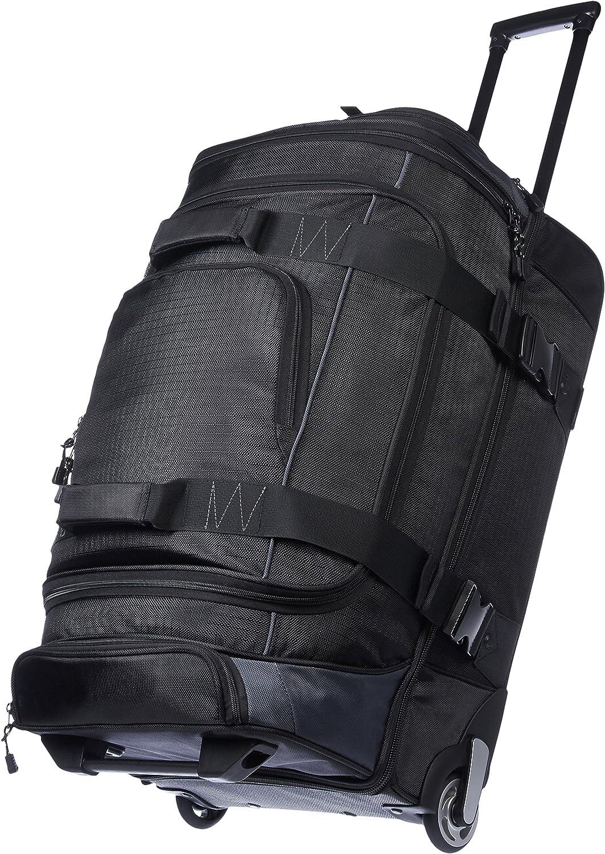 AmazonBasics - Mochila con ruedas de ripstop, 72 cm, 64 litros - Negro