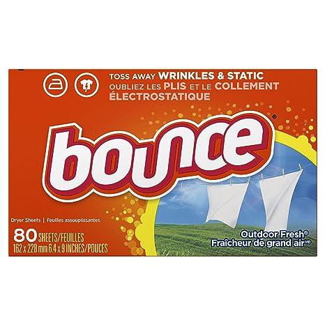 216b8e4a43ba Bounce toallitas desechanles con suavizante para ropa, 80 hojas