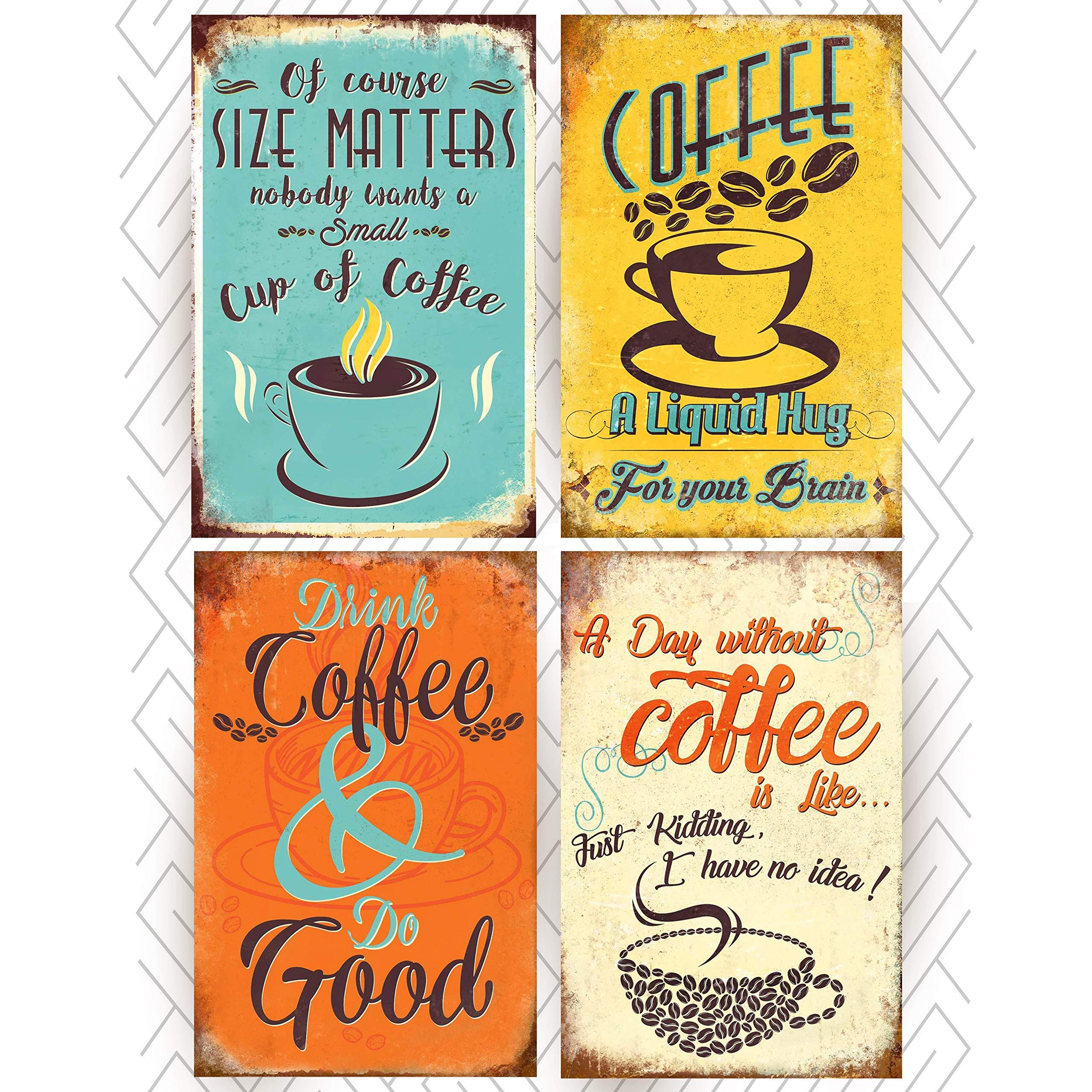 Amazon.com: Coffee Sign Shop Posters Prints (OFFSET PAPER ...