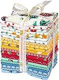 Morningside Farm 30's Fabrics by Darlene Zimmerman for Robert Kaufman~Fat Quarter Bundle of 21 Cotton Fabric