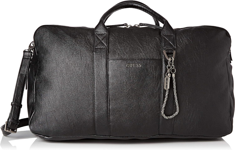 Guess Jones, Men's Top-Handle Bag, Black, 30x32x55 cm (W x H L):  Amazon.co.uk: Shoes & Bags