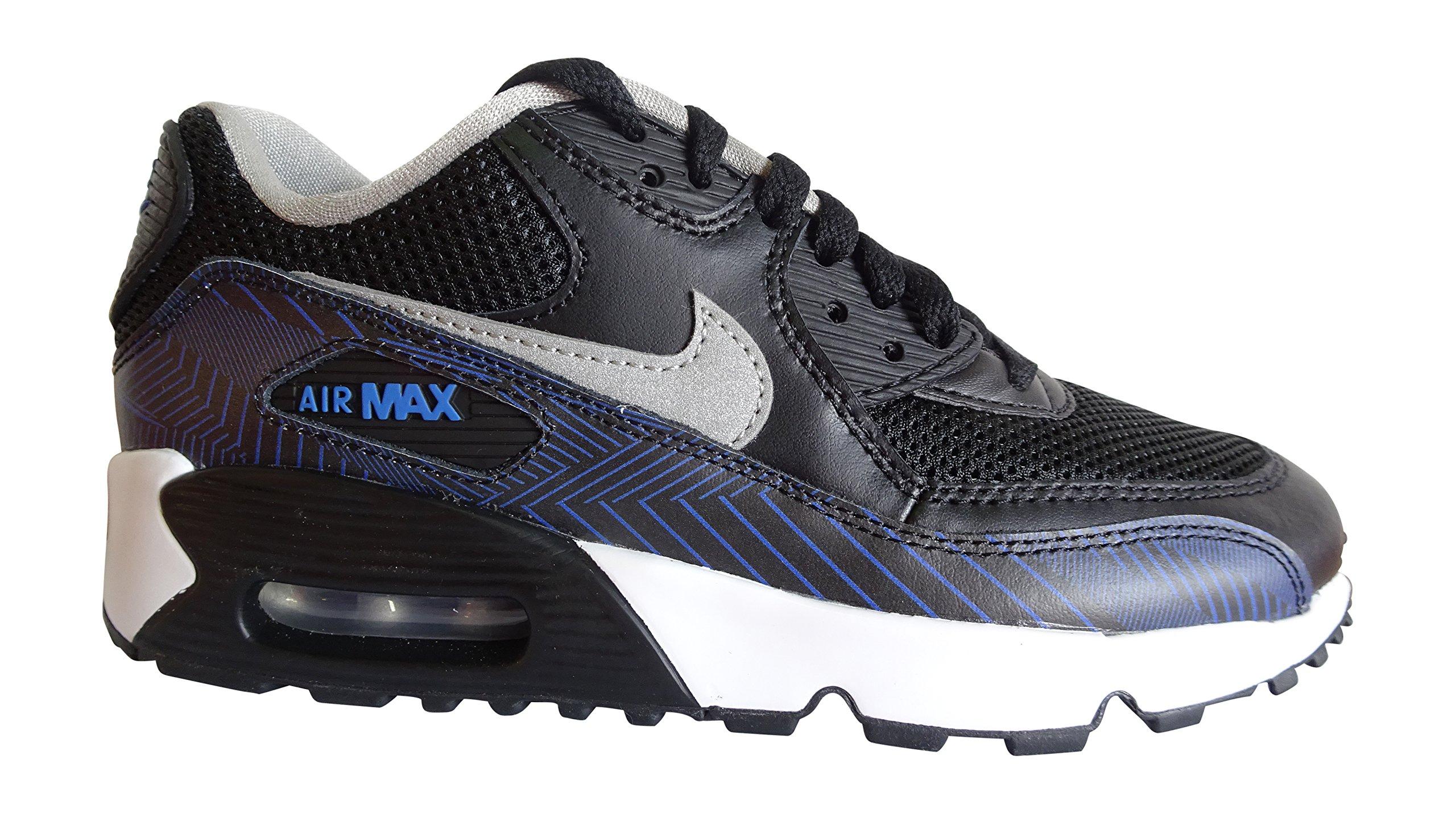 Nike - Air Max 90 Print ME - 833486002 - Colore  Blu marino-Nero - Taglia   38.5  Amazon.it  Libri b264679d382