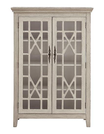 info for 37ab4 35207 Amazon.com: Treasure Trove 17330 Two Door Bookcase, Ivory ...