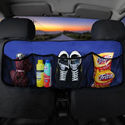 FH Group FH1122BLUE Car Trunk Organizer (Multi-Pocket Storage Collapsible for Easy Carry Perfect for Garage or Grocery Store), 1 Pack: Automotive