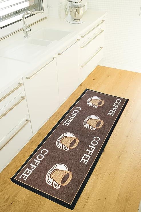 Andiamo Tapis de Cuisine Modern Coffeeshop Tapis de Couloir tr/ès Durable