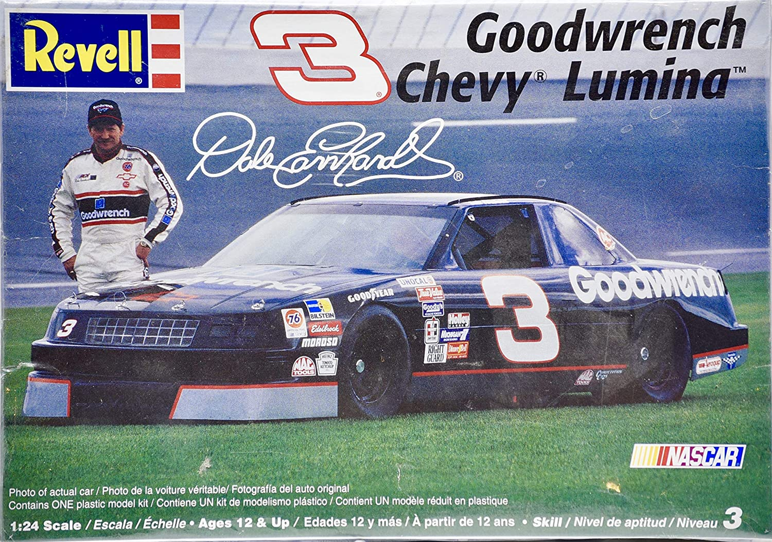 Revell Goodwrench Chevy Lumina Dale Earnhardt 3 124 Scale By