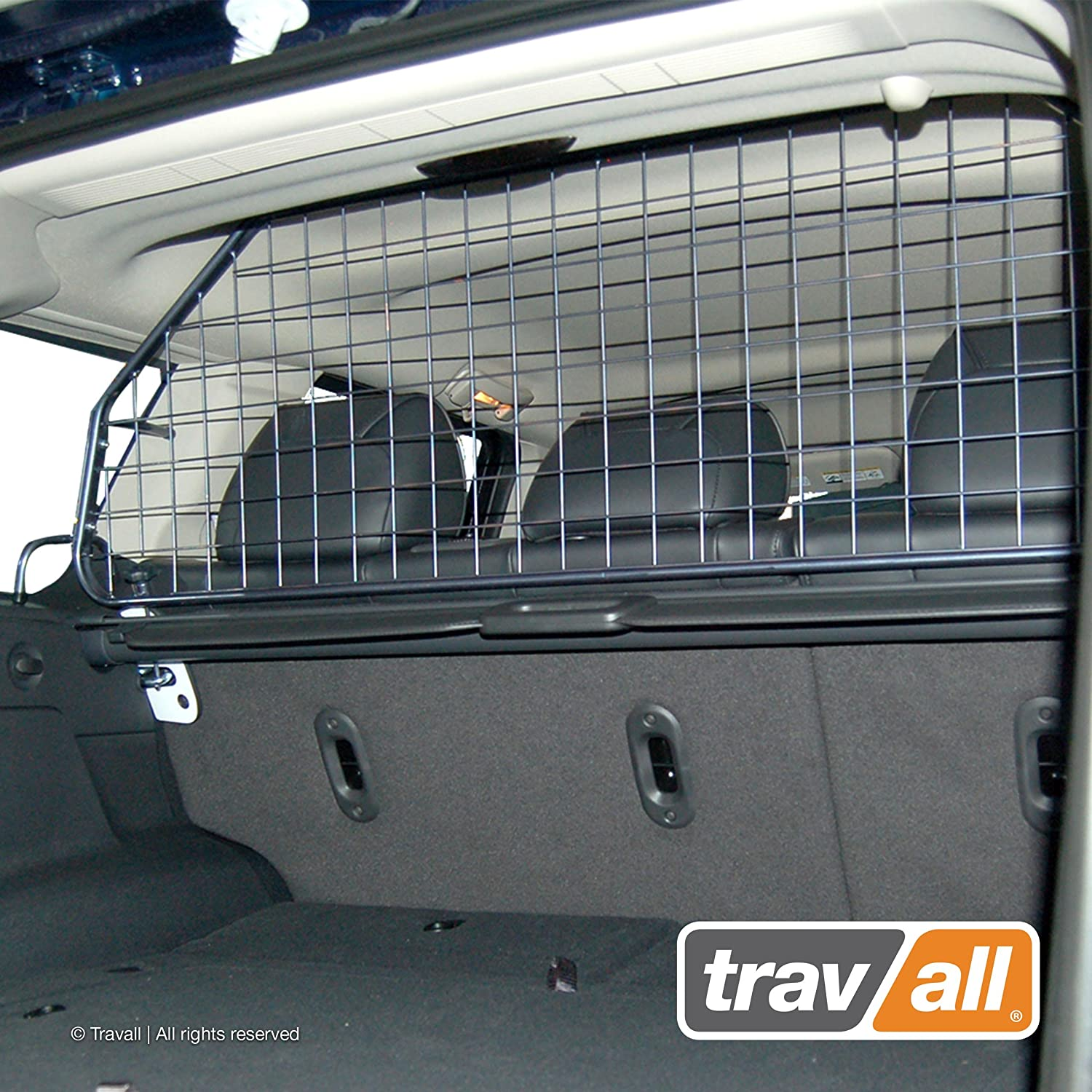 Travall Guard Compatible with Jeep Grand Cherokee 2005-2010 TDG1375 – Rattle-Free Steel Pet Barrier
