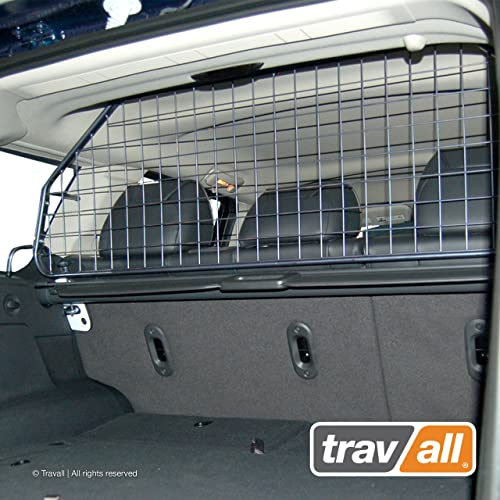 Travall Guard Compatible with Jeep Grand Cherokee WK WH 2005-2010 TDG1375 – Rattle-Free Steel Vehicle Specific Pet Barrier