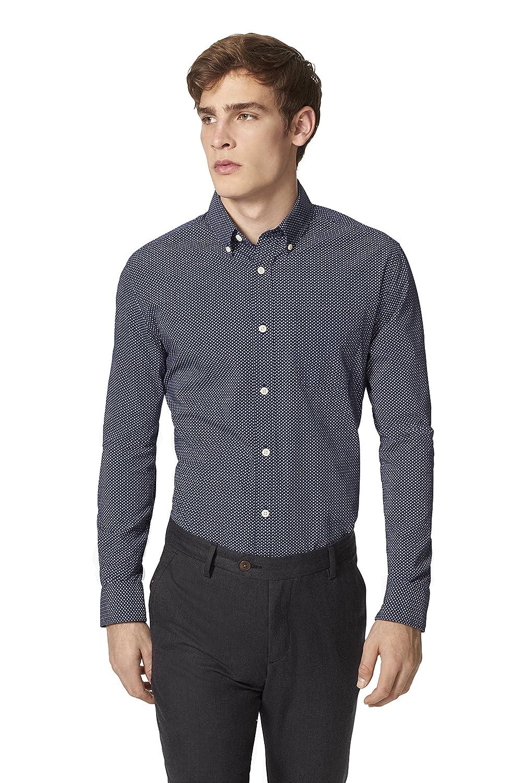 Tommy Hilfiger Men's Match Geo Print Shirt 8814407