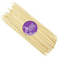 AsianHobbyCrafts Satay Sticks Bamboo Skewers: 100 pcs : 10 inches