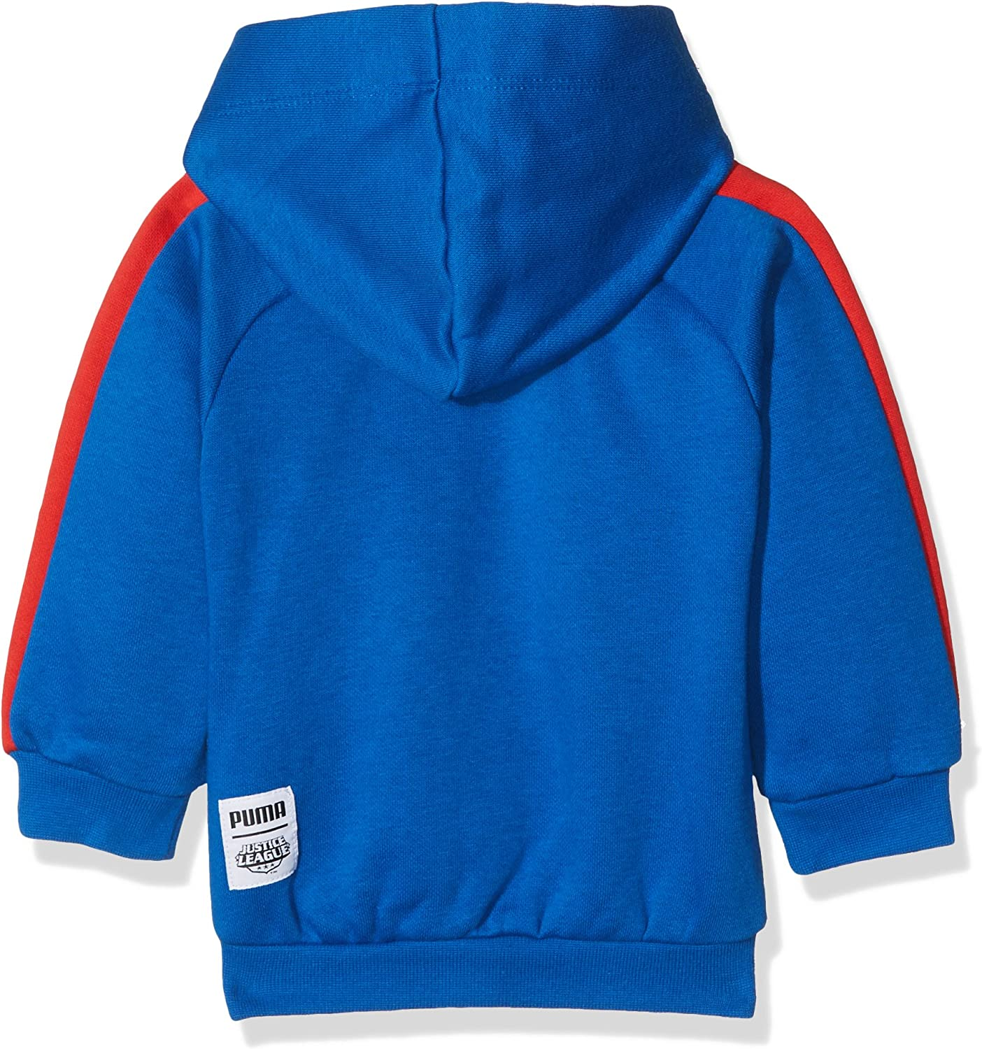 PUMA Childrens Justice League Hooded Jogger Suit