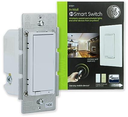 Ge Zwave Wireless Smart Lighting Control Light Switch Onoff. Ge Zwave Wireless Smart Lighting Control Light Switch Onoff Paddle. Smart. Ge Smart Switch Wiring At Scoala.co