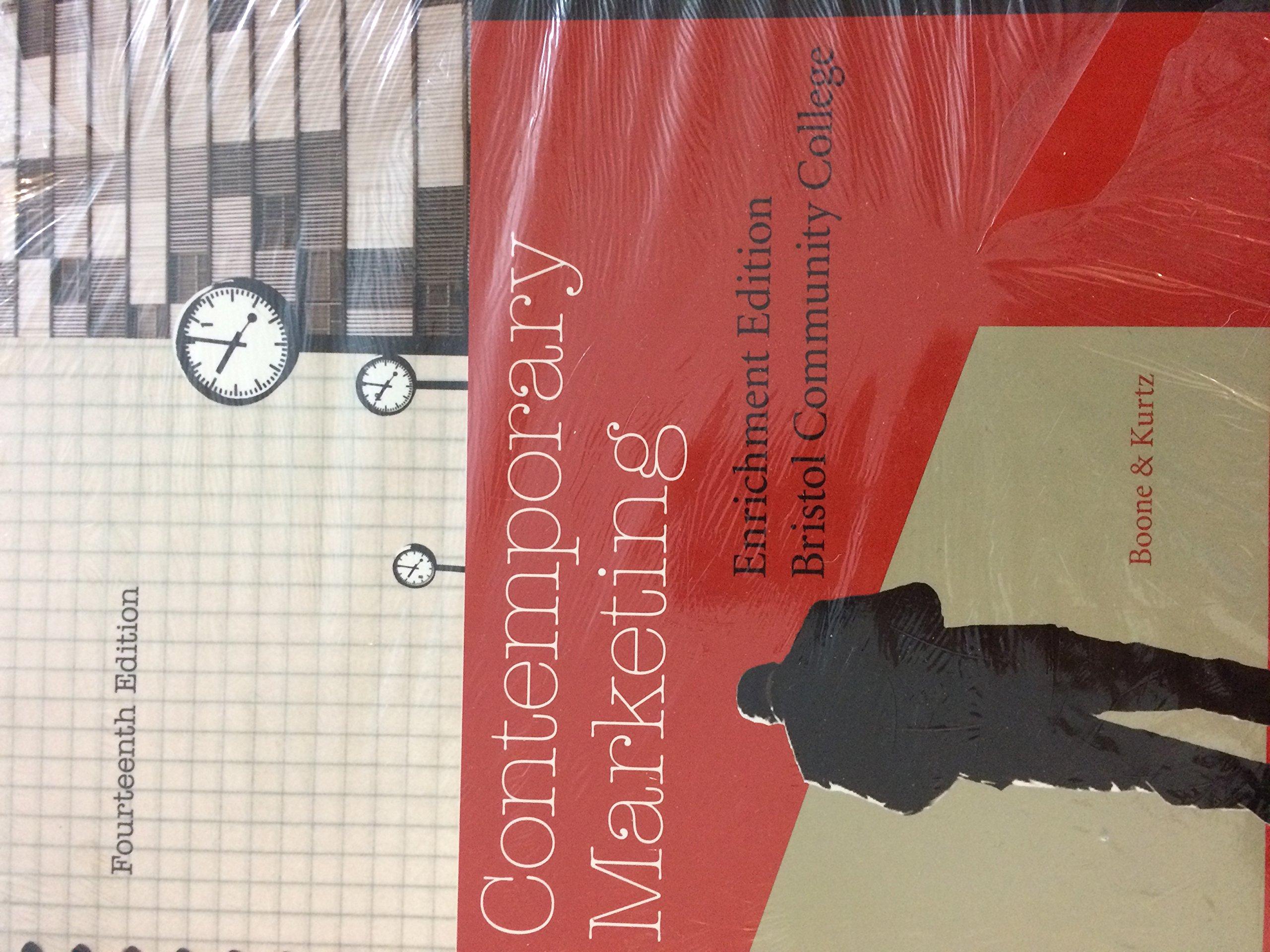 Read Online Contemporary Marketing - Enrichment Edition - Fourteenth Edition - Bristol Community College pdf