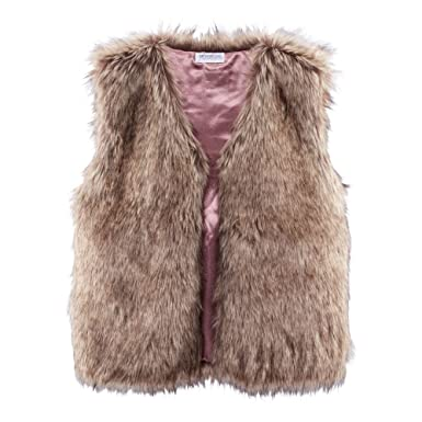 Impressionen fake fur mantel