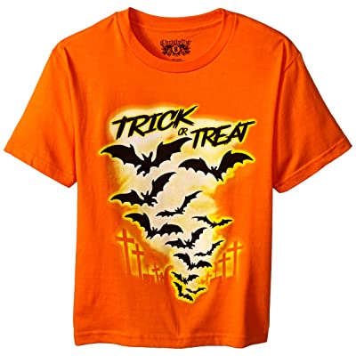 C-Life Group Big Boys' Halloween Trick Or Treat Tee