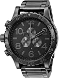 Nixon 51-30 Chrono. 100m Water Resistant Men's Watch (XL 51mm Watch Face/25mm Stainless Steel Band)