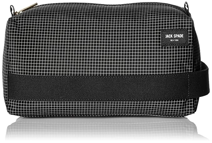 962817a369beb Jack Spade Men's Packable Graph Check Toiletry Kit