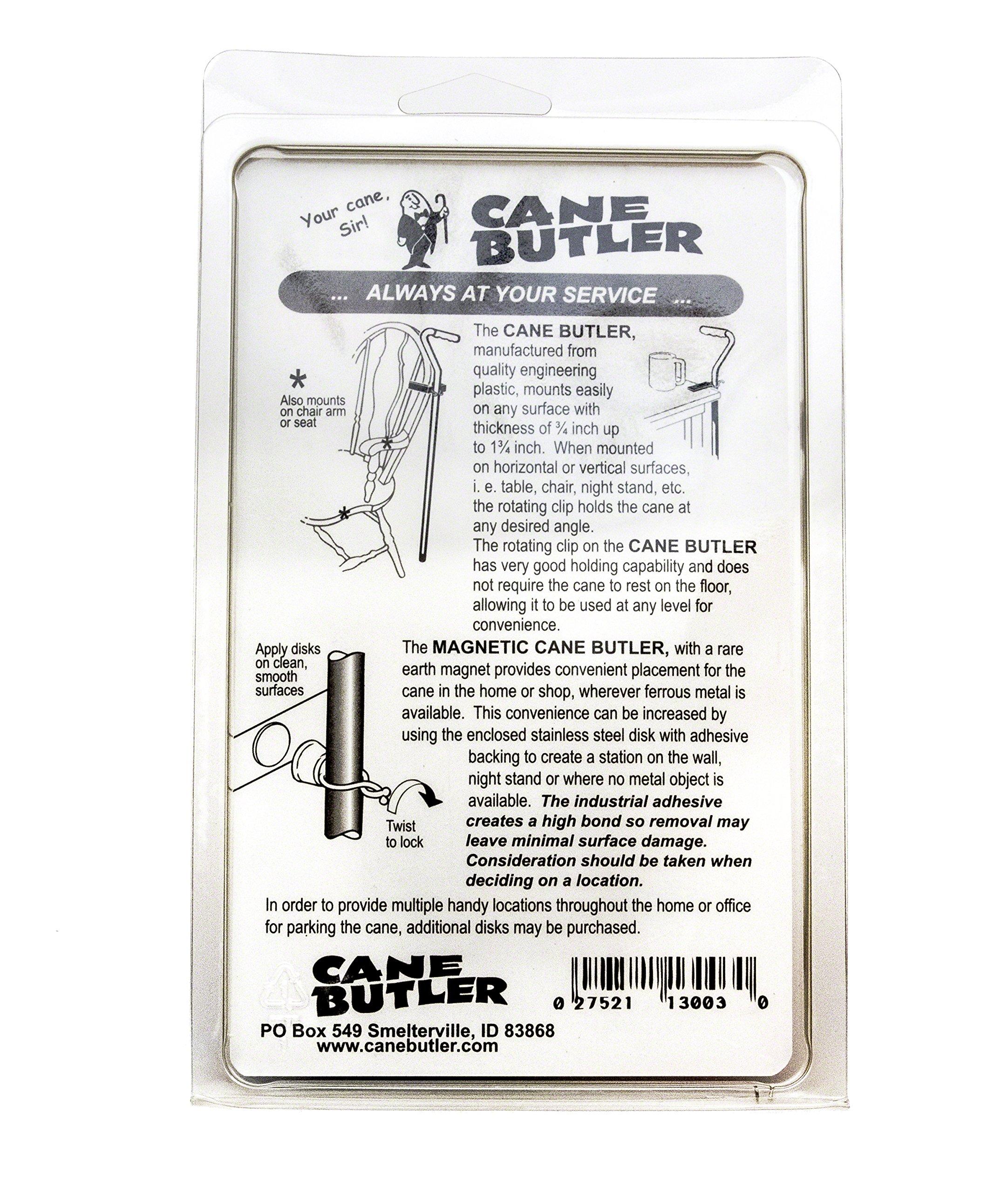 Cane Butler Combo Pack Includes Original Cane Butler, Disk Station, and Magnetic Cane Butler by Cane Butler (Image #2)