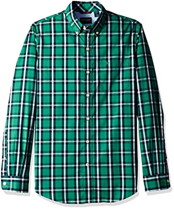 ed02e85f0df Long Sleeve Button Front Shirt at Amazon Men s Clothing store
