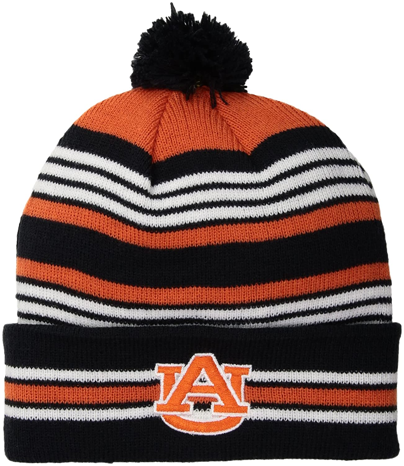 best sneakers efc85 e958a Amazon.com   NCAA OTS Youth Rickshaw Cuff Knit Cap Auburn Tigers, Youth,  Team Color   Sports   Outdoors