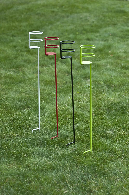 amazon com decko heavy duty outdoor beverage drink holder stakes