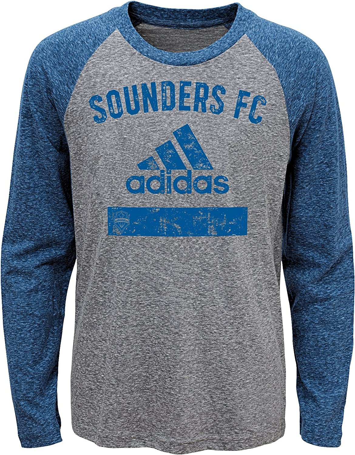Outerstuff MLS Mens Triblend Equiptment Long Sleeve Tee