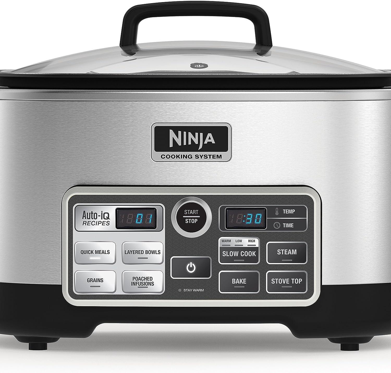 Amazon.com: Sistema de cocina Ninja CS960 con Auto-iQ, 6 ...