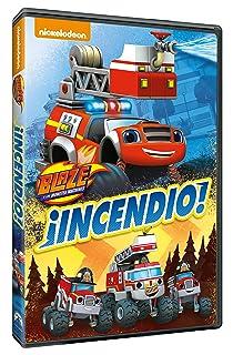 Blaze Y Los Monster Machines 4: ¡Incendio! [DVD]