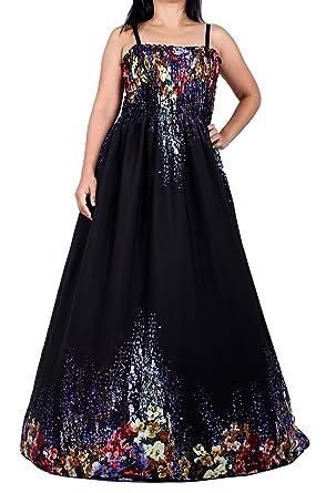 c1000ab8f4b7 Gaya Fesyen Maxi Dress for Women Plus Size Summer Beach Wedding Evening  Party Night Sexy Fashion