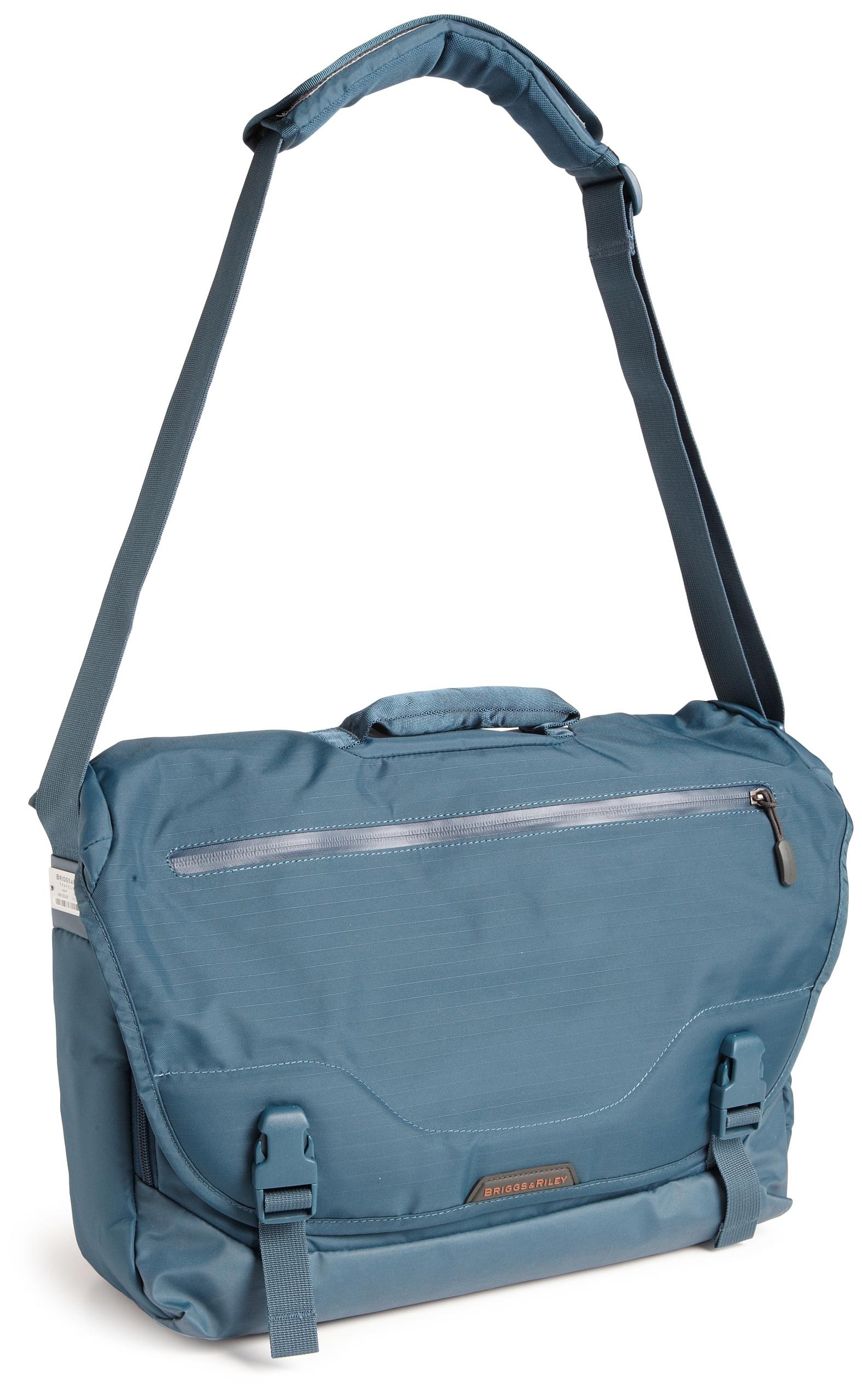 Briggs & Riley Luggage Excursion Messenger Bag, Ocean, Large