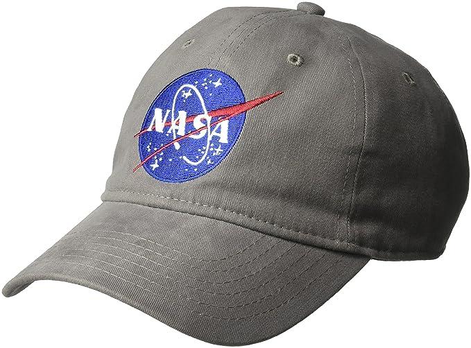 CONCEPT ONE Men s NASA Washed Twill Baseball Cap 8871da9cd2c3