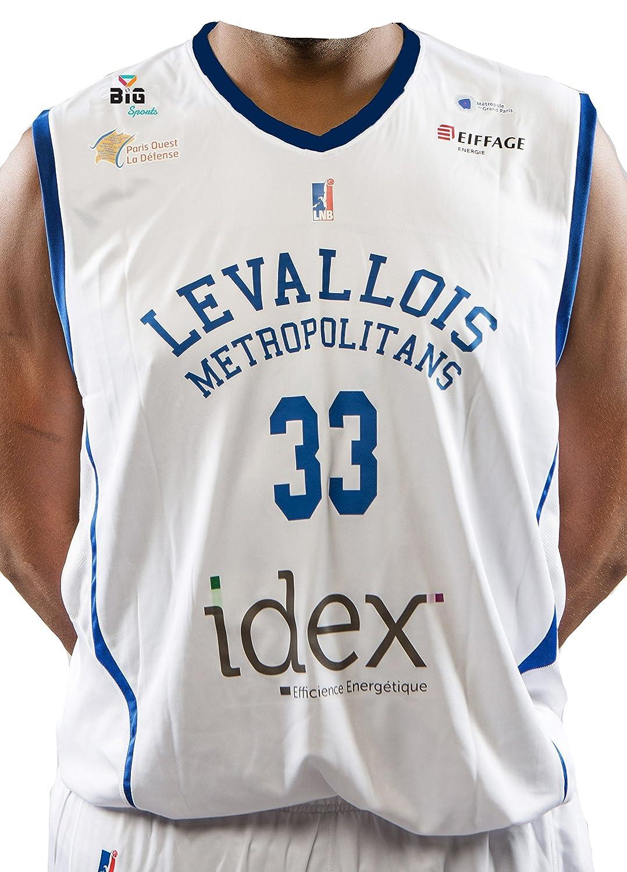 Bigsport Boris Diaw–Camiseta de Baloncesto para Hombre BGSPT #BIGSPORT LMBD2017-1