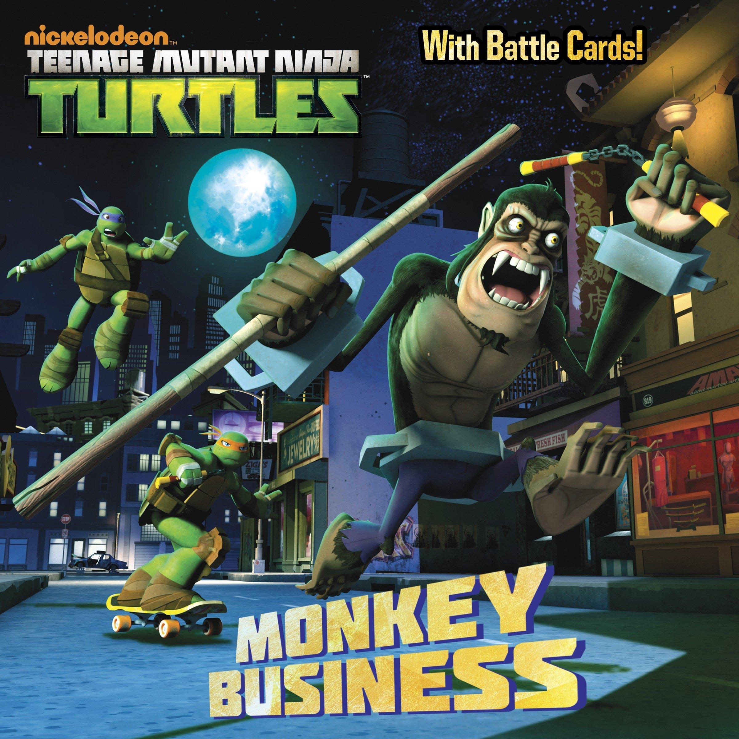 Monkey Business (Teenage Mutant Ninja Turtles): Amazon.es ...
