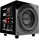 "Earthquake 12"" Powered Subwoofer 600W Class D Black Piano Lacquer Finish"