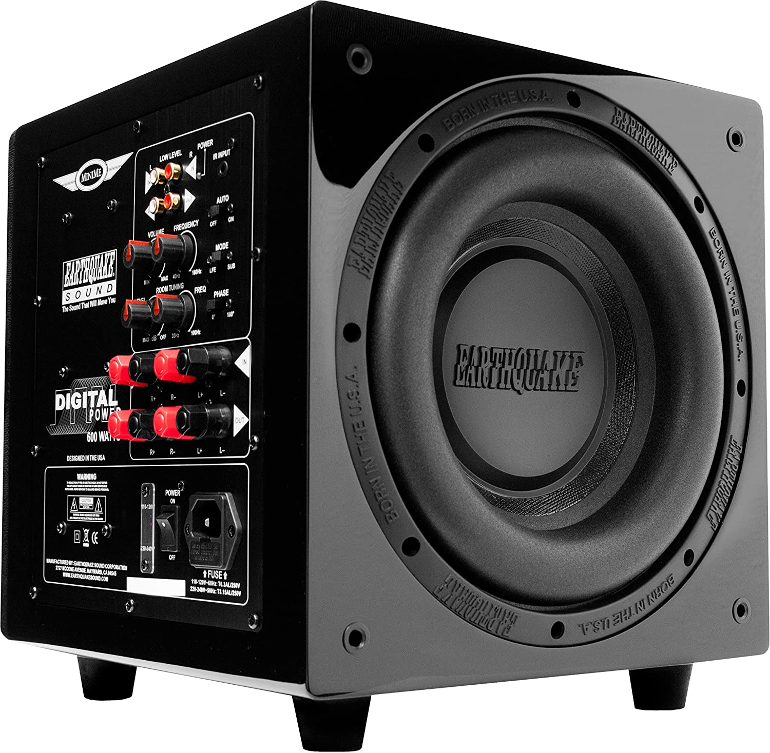 Subwoofer Earthquake MiniMe-P12-V2