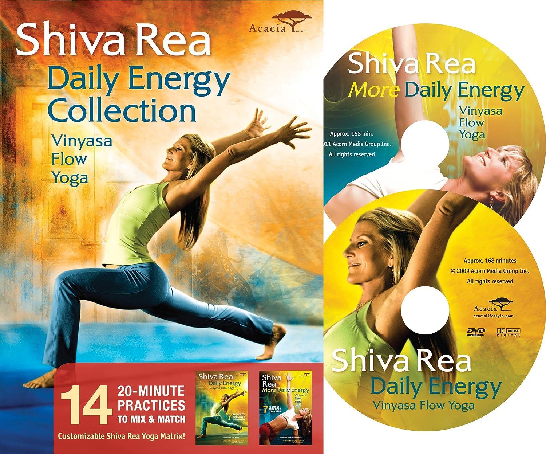 amazon com shiva rea daily energy collection shiva rea movies u0026 tv