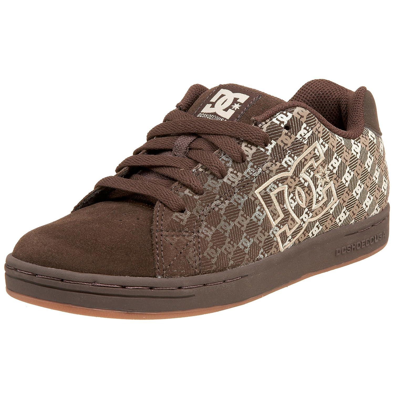 DC graffik–scarpe da Skateboard di CUOIO per bambini DC Shoes NET - K