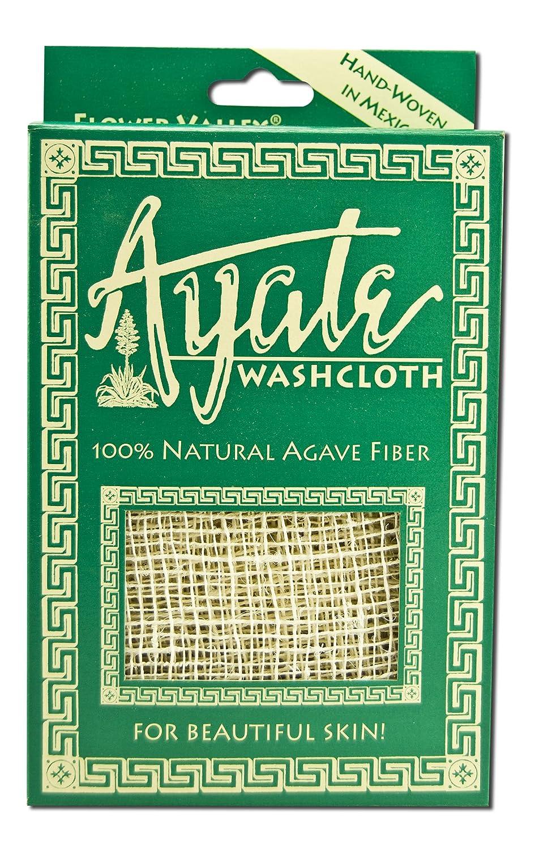 Ayate Washcloth, 100% Natural Agave Fiber, 1 washcloth 073346