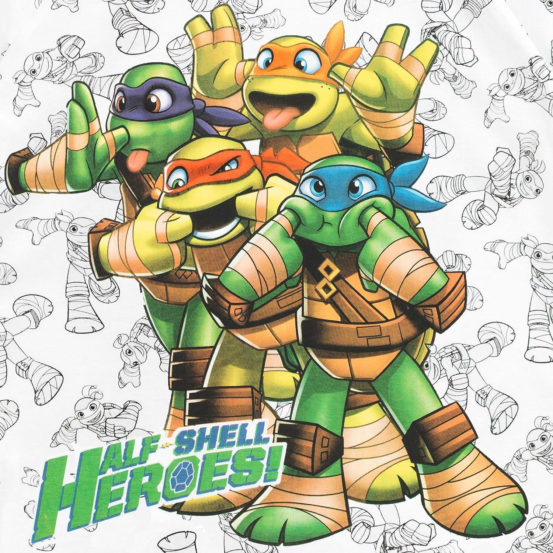 Teenage Mutant Ninja Turtles - Camiseta para niño - Las Tortugas Ninja - 5 - 6 Años