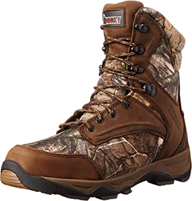 """Rocky Men's 8"""" Retraction 800G Hunting Boots"""