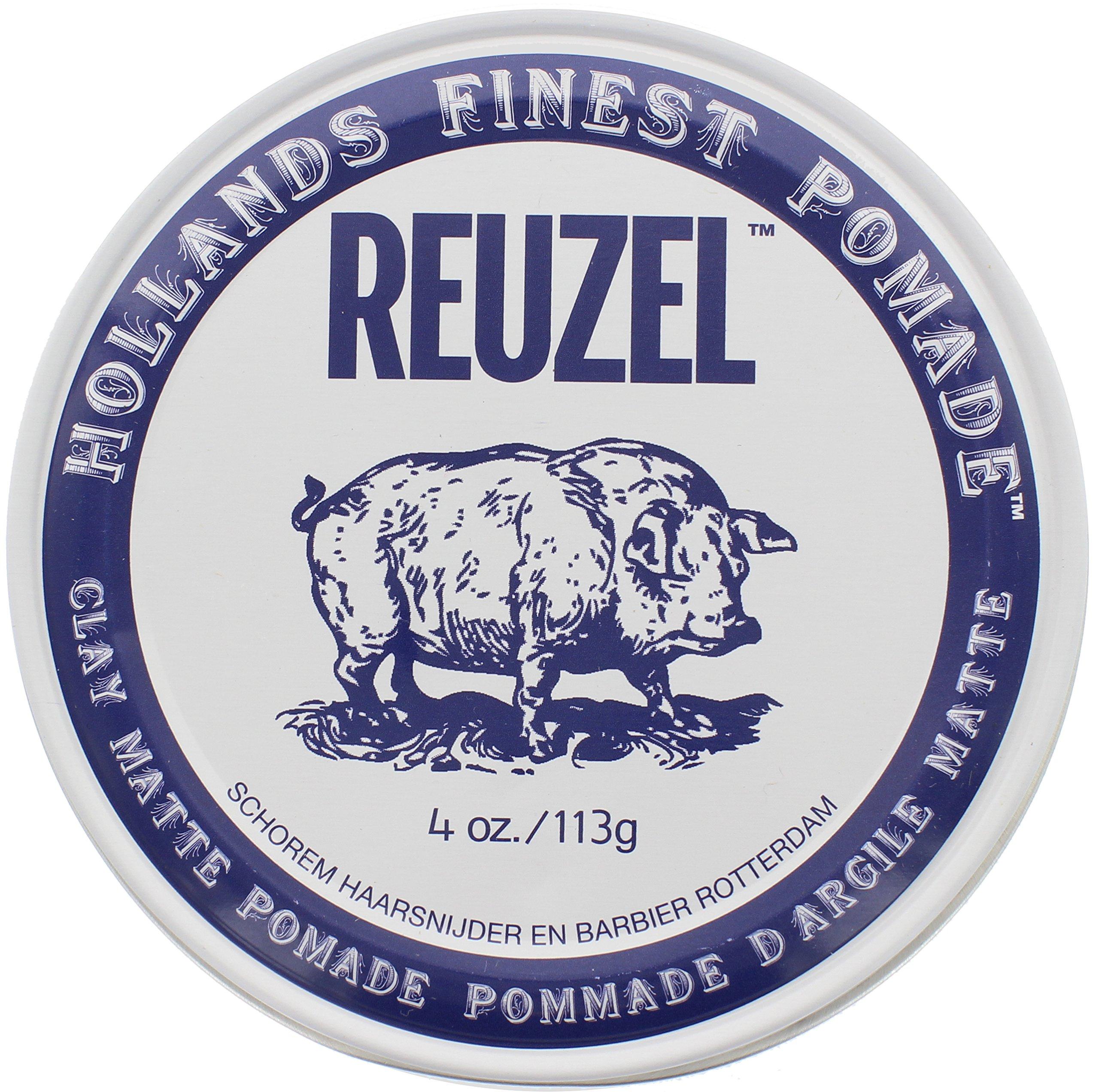 Reuzel Clay Matte Pomade, 4 Ounce
